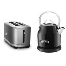 Exclusive Breakfast Bundle (Toaster + Kettle) - Onyx Black