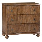 Hawthorne Estate 3 Drawer Curved Front Chest Product Image