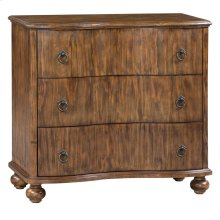 Hawthorne Estate 3 Drawer Curved Front Chest
