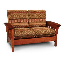Morris Loveseat, Fabric Cushion Seat