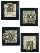 "Wall Decor - Set of 4 22 x 22"" each Product Image"