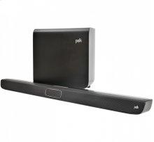 Voice Optimizing Wireless Sound Bar in Black