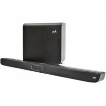 Voice Optimizing Wireless Sound Bar in Black