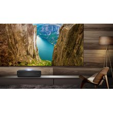 "100"" class L10 series - 4K Ultra HD Smart Dual Color Laser TV with HDR"