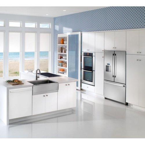 Ascenta® built-under dishwasher 24'' White SHX3AR72UC