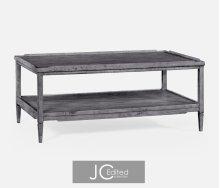 Antique Dark Grey Coffee Table