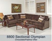Olympian Chocola/Padma Otter 8800LFS - 8800 L/F Sectional