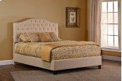 Jamie Upholstered Bed Set - King - Rails Included