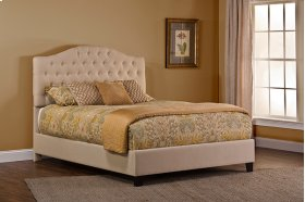 Jamie Upholstered Bed Set - King - Rails Included