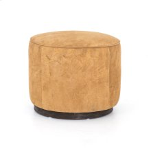 Whistler Chamois Cover Sinclair Round Ottoman