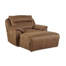 Stand Alone Power Headrest Chaise