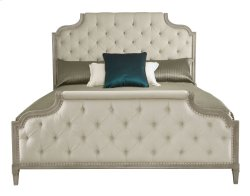 Queen-Sized Marquesa Upholstered Bed in Marquesa Gray Cashmere (359)