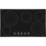 36-Inch Electric Radiant Cooktop, Black