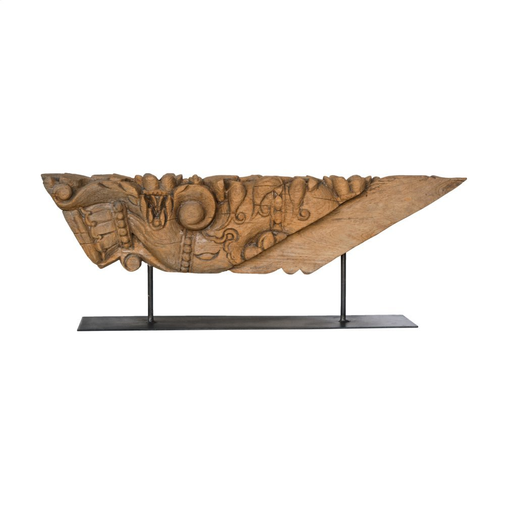 Medium Size Carving On Metal Stand