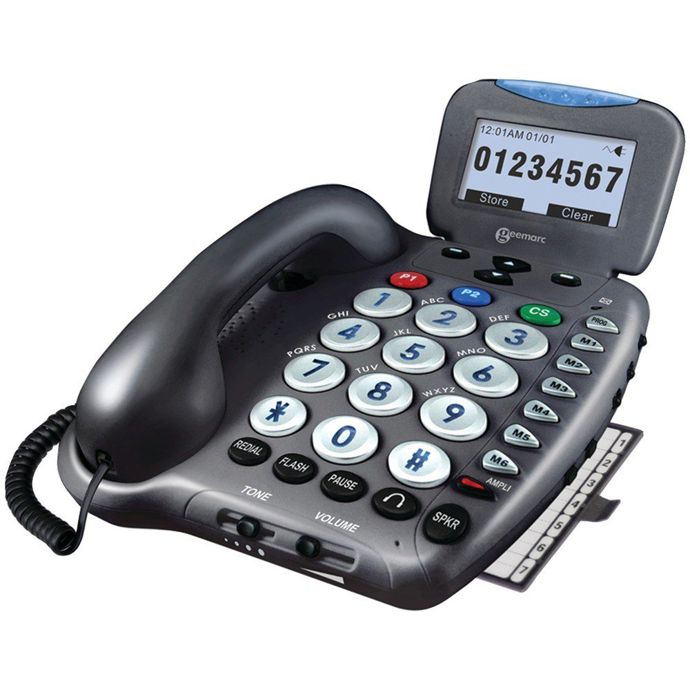 50dB Amplified Telephone with Talking Caller ID