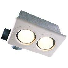 Dual Bulb Combination Heater