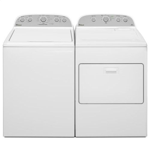 Whirlpool® 7.0 cu.ft Top Load Electric Dryer with Wrinkle Shield™ Plus - White