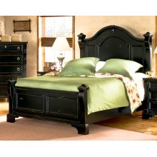 Black Queen Bed