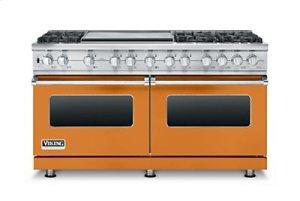 "60"" Custom Sealed Burner Dual Fuel Range, Propane Gas"