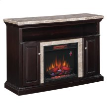 Brighton TV Stand with Electric Fireplace