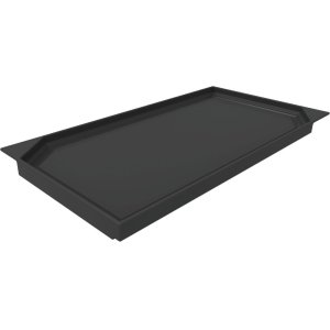 "Professional Range Accessories 12"" Pro Griddle Plate Accessory (for Briquette Grill modules) PAGRIDDLEW"