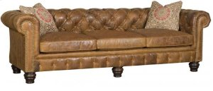 Empire Leather Sofa