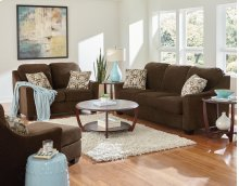 Cityscape Sofa and Love Seat W/4 Toss Pillows