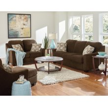 Loveseat, W/2 Toss Pillows