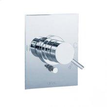 Techno - Pressure balance mixing valve trim - Polished Chrome