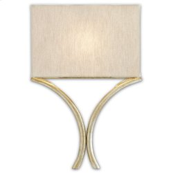 Cornwall Silver Wall Sconce