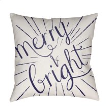 """Merry and Bright HDY-122 20"""" x 20"""""""