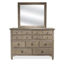 Myra Nine Drawer Dresser Natural finish