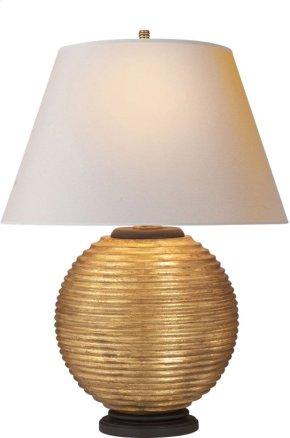 Visual Comfort AH3105GW-NP Alexa Hampton Hugo 26 inch 100 watt Gilded Wood Decorative Table Lamp Portable Light