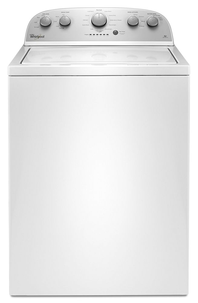 Whirlpool® 4.0 cu. ft. I.E.C. Top Load Washer with the Deep Water Wash option
