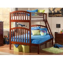 Richland Bunk Bed Twin over Full in Walnut