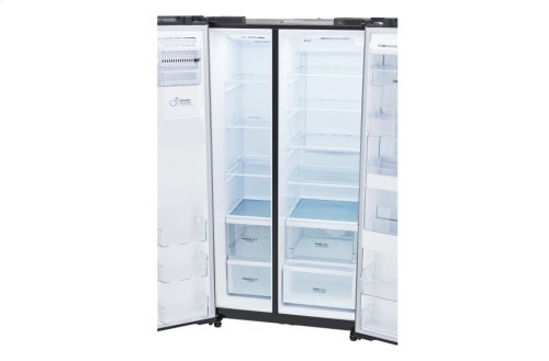 LG Black Stainless Steel Series 26 cu. ft. Side-by-Side Refrigerator w/ Door-in-Door®