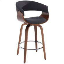 "Holt 26"" Counter Stool in Charcoal Grey"