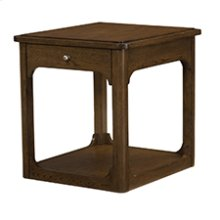Facet Rectangular End Table