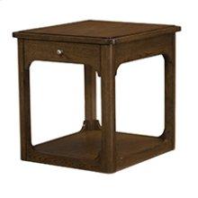 Facet Rectangular End Table