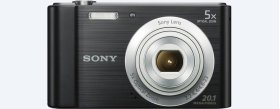 W800 Compact Camera with 5x Optical Zoom