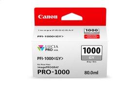 Canon PFI-1000 Gray Ink Tank Gray Individual Ink Tank