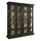 Black Caspian Double Cabinet Product Image