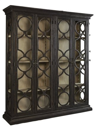 Black Caspian Double Cabinet