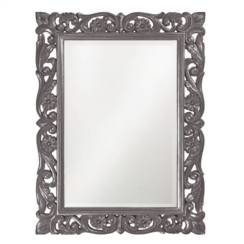 Chateau Mirror - Glossy Charcoal
