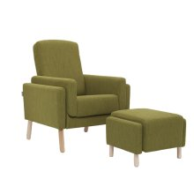 Glider with an original and colorful appearance, which will enhance your decor for sure!
