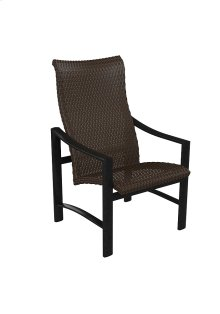 Kenzo Woven High Back Dining Chair