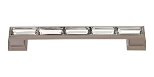 Legacy Crystal Pull 5 1/16 Inch (c-c) - Brushed Nickel