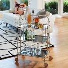 Plaza Bar Trolley-Nickel Product Image
