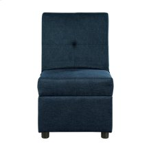 Storage Ottoman/Chair, Blue