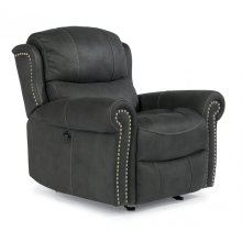 Walden Fabric Power Gliding Recliner